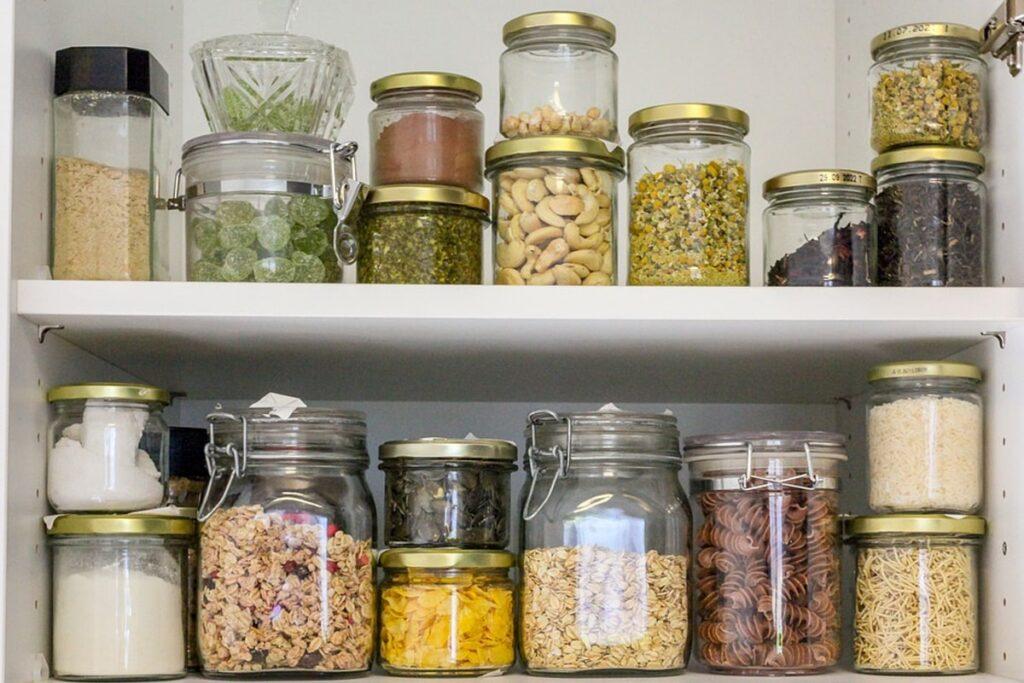 6 Eco-Friendly Ways To Organize Your Messy Pantry